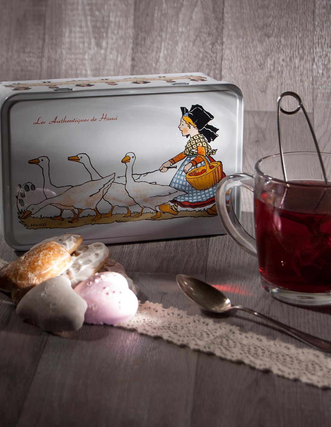 Boîte à sucre décor Hansi