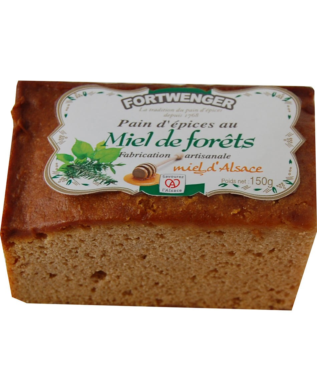 Pain d'épices au miel de Forêt d'Alsace