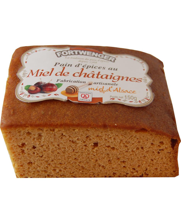 Pain d'épices au miel de Châtaignier d'Alsace