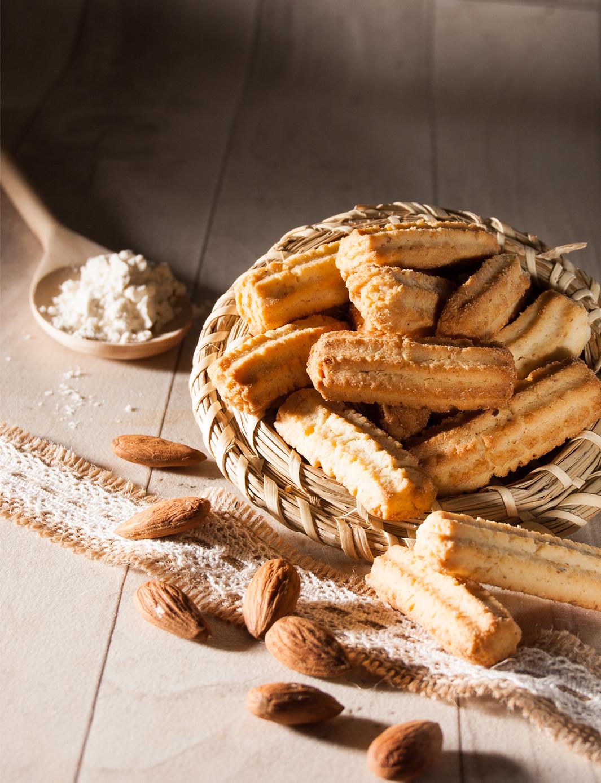 Spritz aux amandes Biscuiterie de l'Oncle Hansi