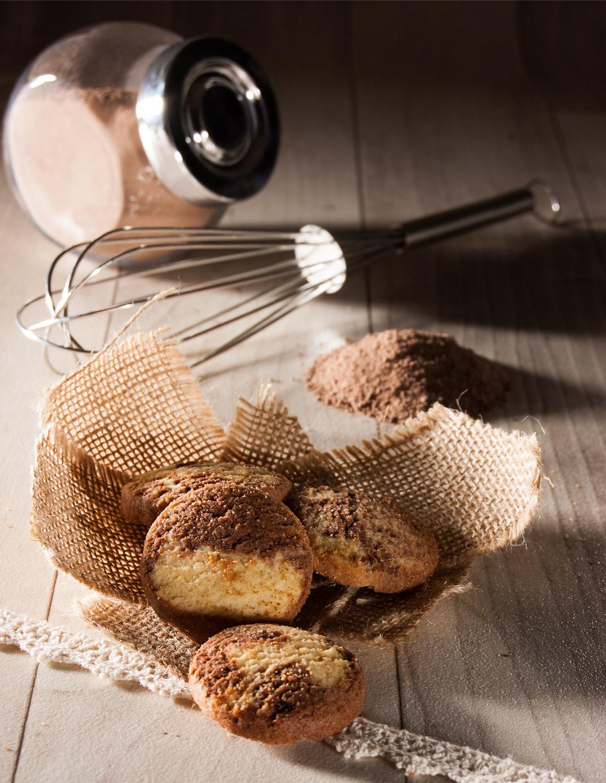Sablés marbré cacao Biscuiterie de l'Oncle Hansi