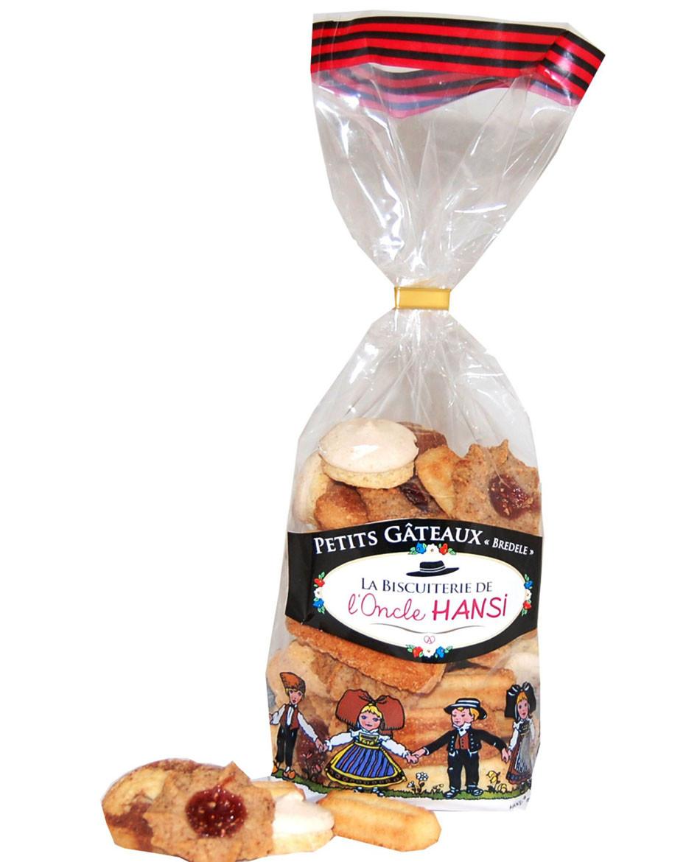 Assortiment de petits gâteaux alsaciens BIO Biscuiterie de l'Oncle Hansi