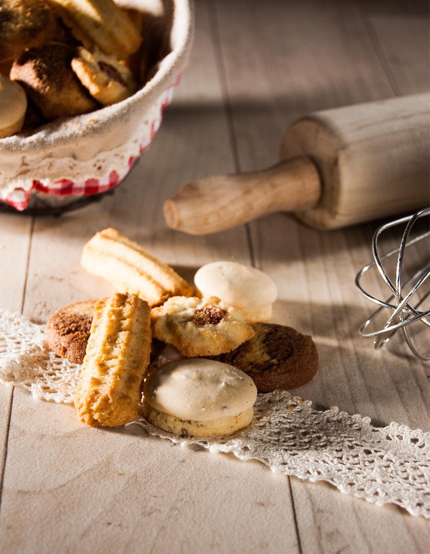 Assortiment de bredeles, petits gâteaux de noël alsaciens Biscuiterie de l'Oncle Hansi