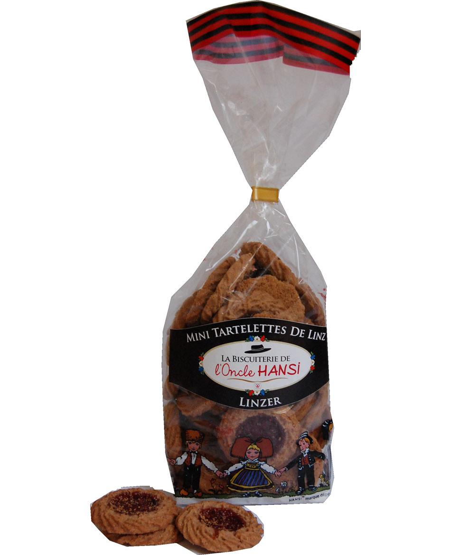 Mini Tartelette de Linz Biscuiterie de l'Oncle Hansi