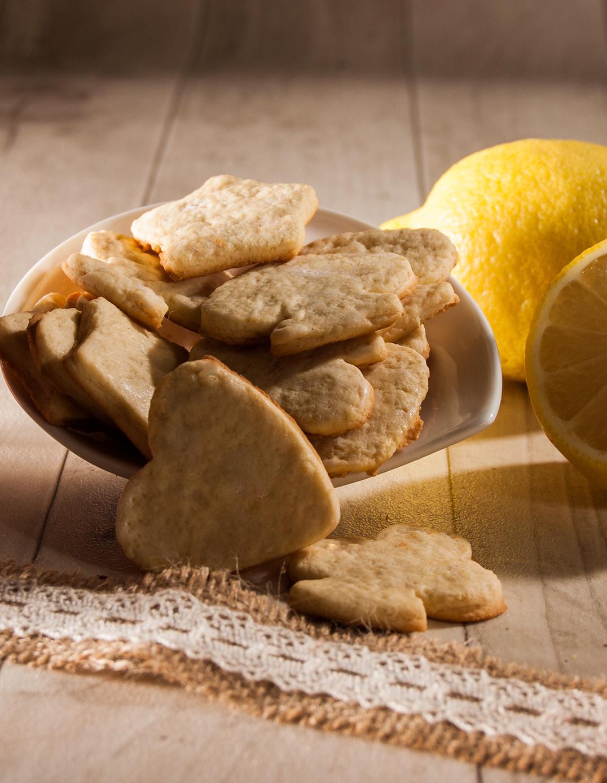 Sablés au citron Biscuiterie de l'Oncle Hansi