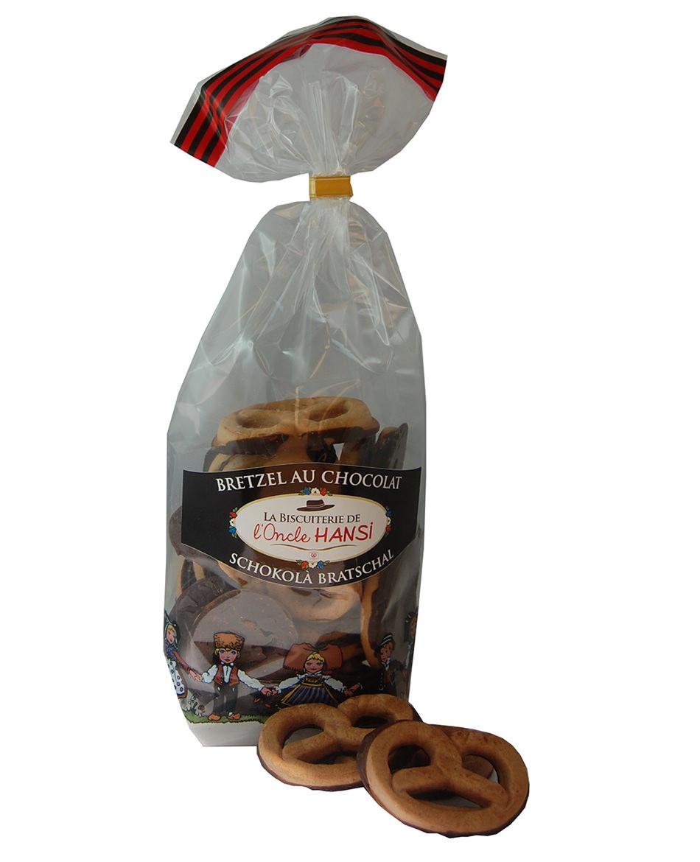 Bretzels au chocolat Biscuiterie de l'Oncle Hansi
