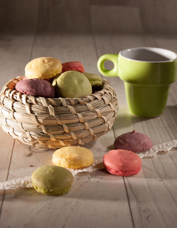 Macarons aux 4 fruits Biscuiterie de l'Oncle Hansi
