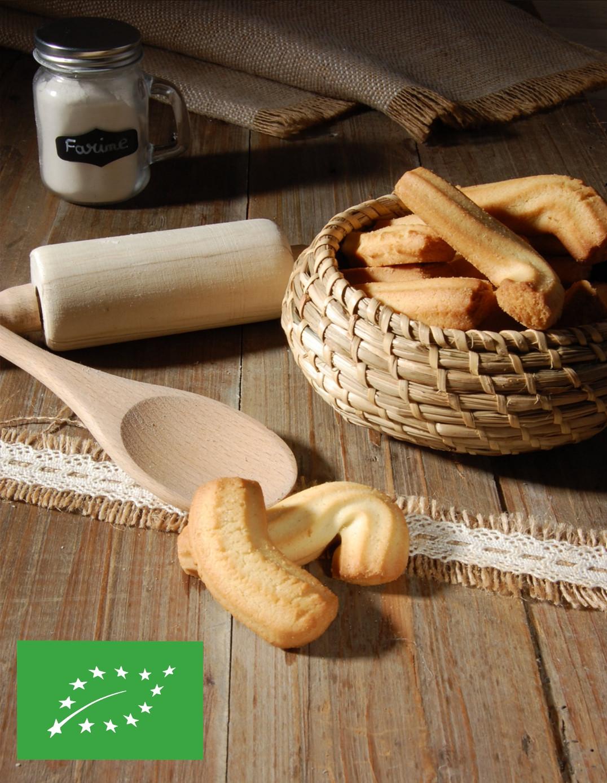 Spritz au beurre BIO Biscuiterie de l'Oncle Hansi
