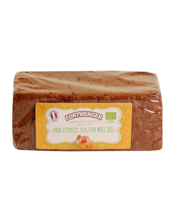 Pain d'épices 30% pur miel BIO FR-BIO-21 150g