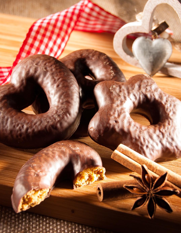 Assortiment coeurs/étoiles/bretzels chocolat au lait