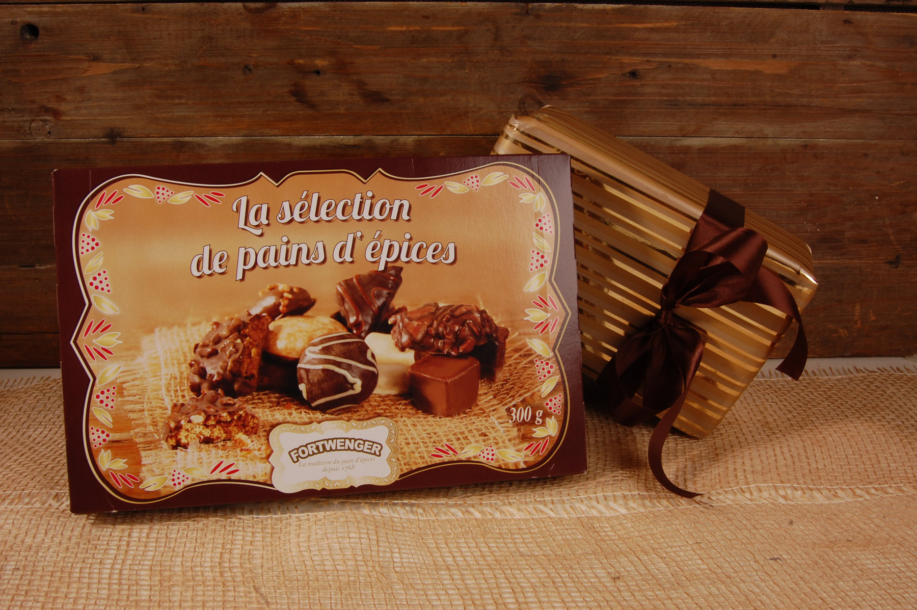 Boîte La séléction de Pains d'épices 300g