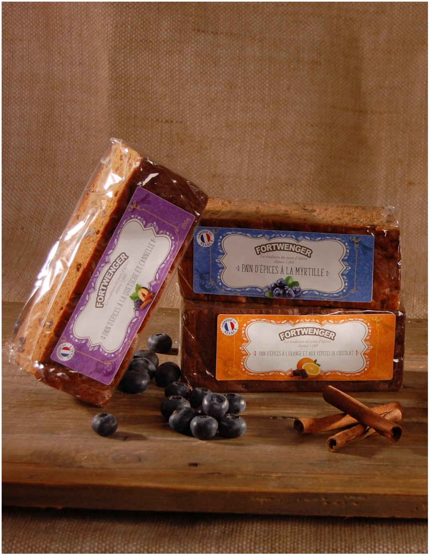 Pain d'épices à l'orange et pépites de chocolat 200g