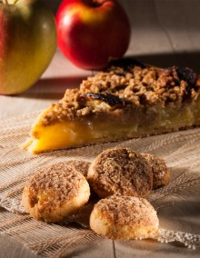 Streusel aux Pommes Biscuiterie de l'Oncle Hansi
