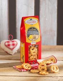 Biscuits apéro - Moutarde à l'ancienne 150g