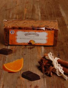 Pain d'épices à l'orange et pépites de chocolat