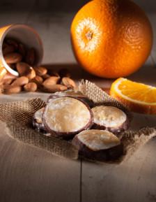 Orange et massepain