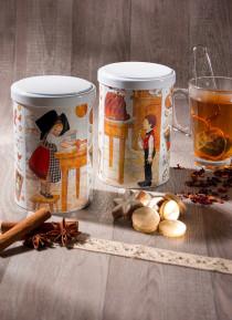 """Boîte à thé décor Hansi """"La pâtisserie"""""""