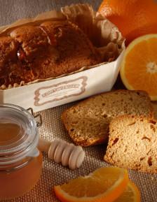 Gourmand au miel et écorces d'oranges