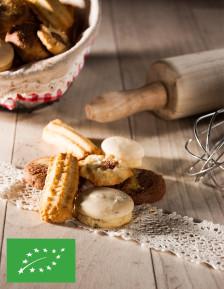 Assortiment de petits gâteaux alsaciens BIO Biscuiterie de l'Oncle Hansi FR-BIO-18